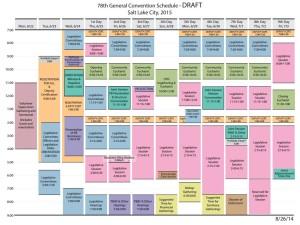 GC schedule