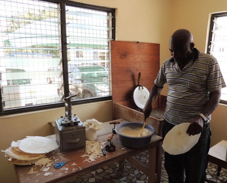 Bishops Court bread maker