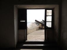 Castle Governor's door