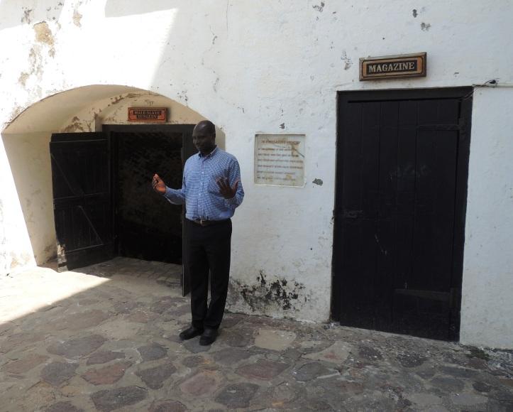 Castle male dungeon entrance