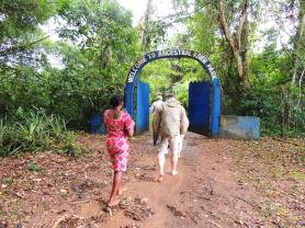 Assin Manso river entrance